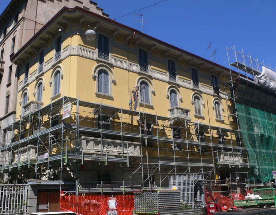 Rifacimento Manto Copertura - Via Maestri Milano