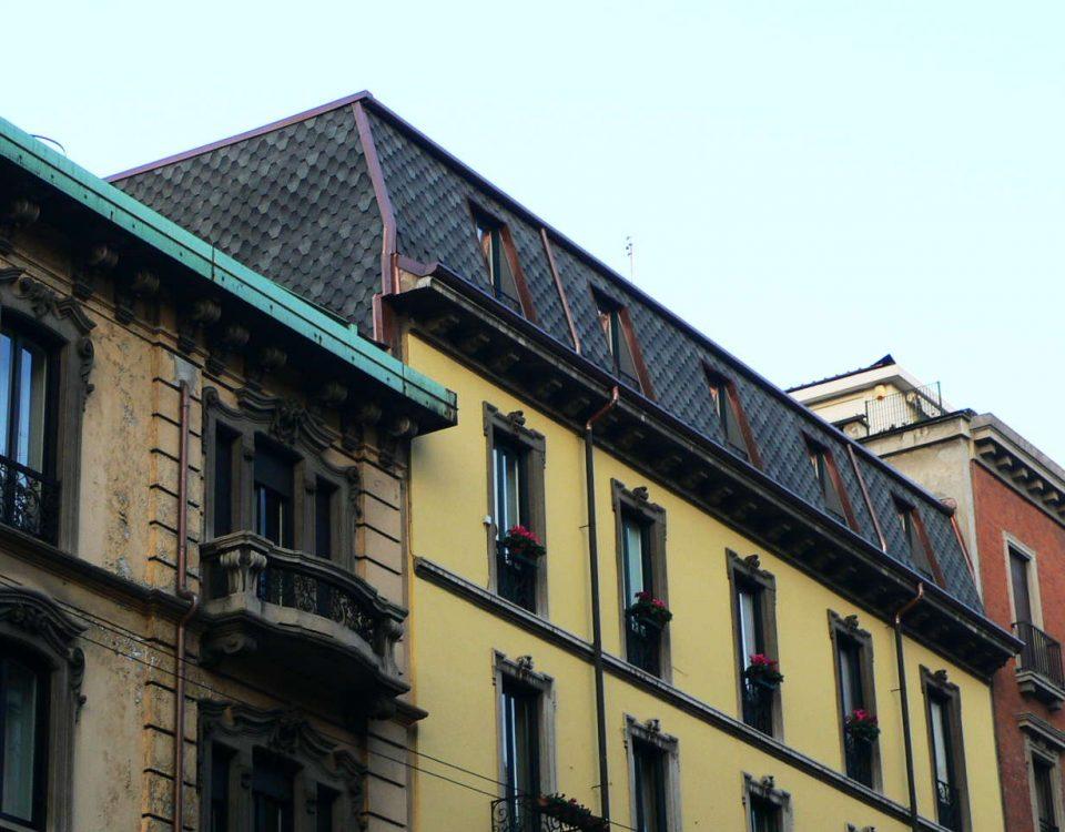 Recupero Sottotetto - Via Boccaccio 16 Milano