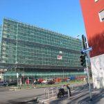Rifacimento Facciate Impalcature - Viale Troya 18-22 Milano